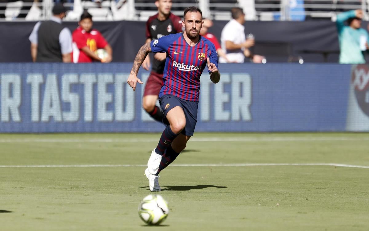 Agreement with Borussia Dortmund for the loan of Paco Alcácer