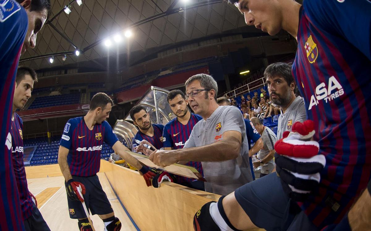 Vendrell – Barça Lassa: Ser primers de grup és l'objectiu!