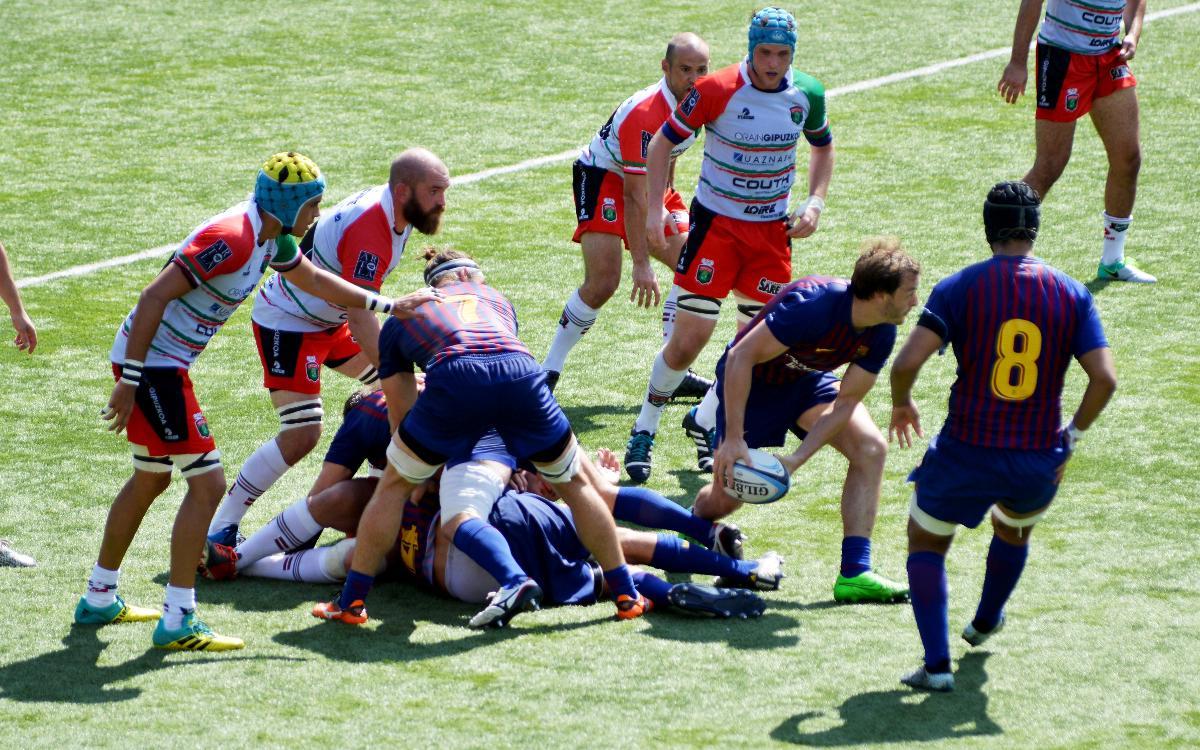 El Barça de rugby empieza la temporada con una victoria trabajada (19-12)
