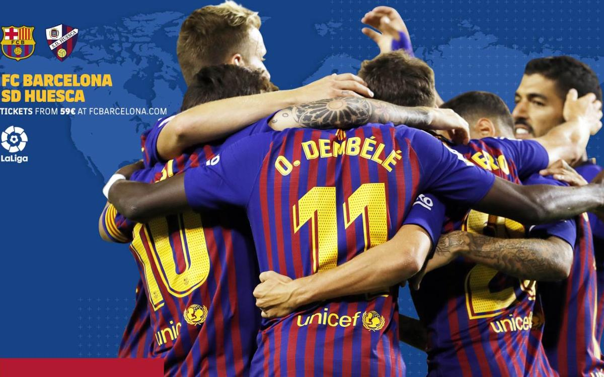 When and where to watch FC Barcelona v SD Huesca