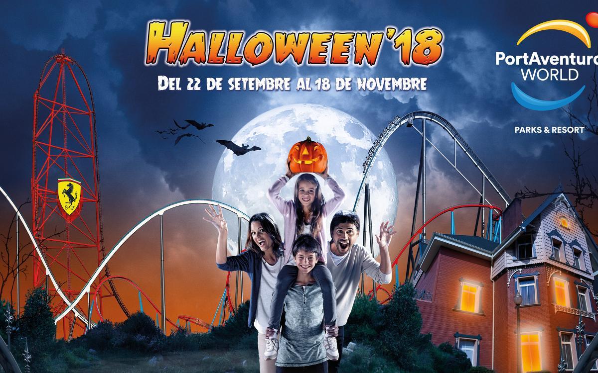 2x1 en Halloween'18 de PortAventura World per als socis