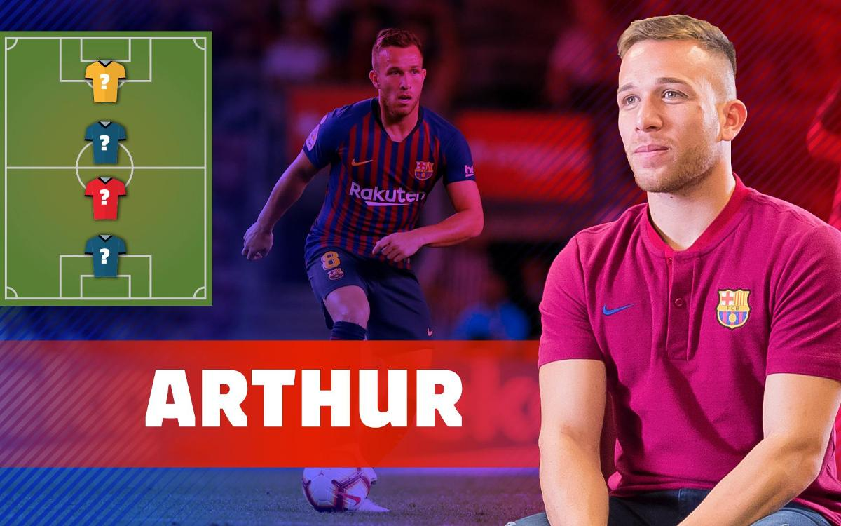 My Top 4: Arthur Melo reveals his football heroes