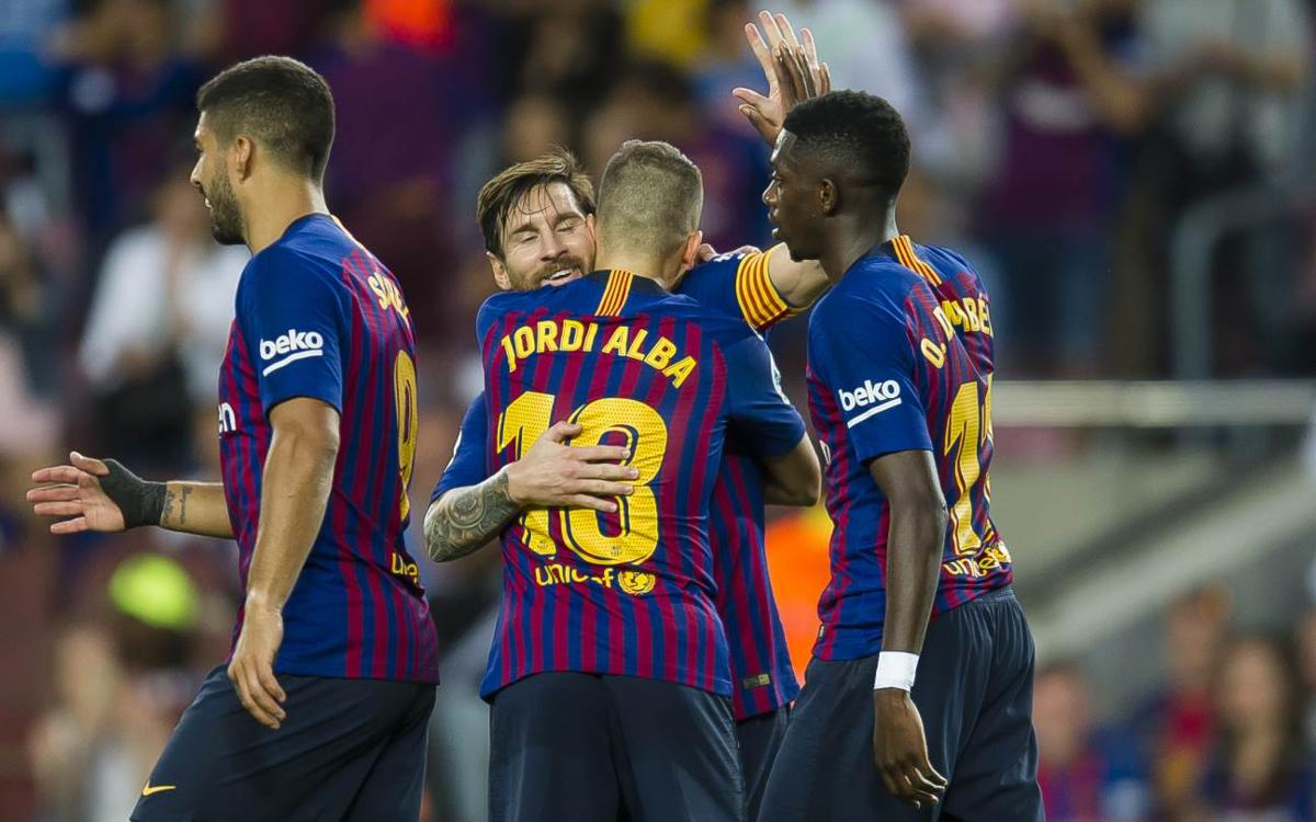 El FC Barcelona encadena 38 partits de Lliga al Camp Nou sense perdre