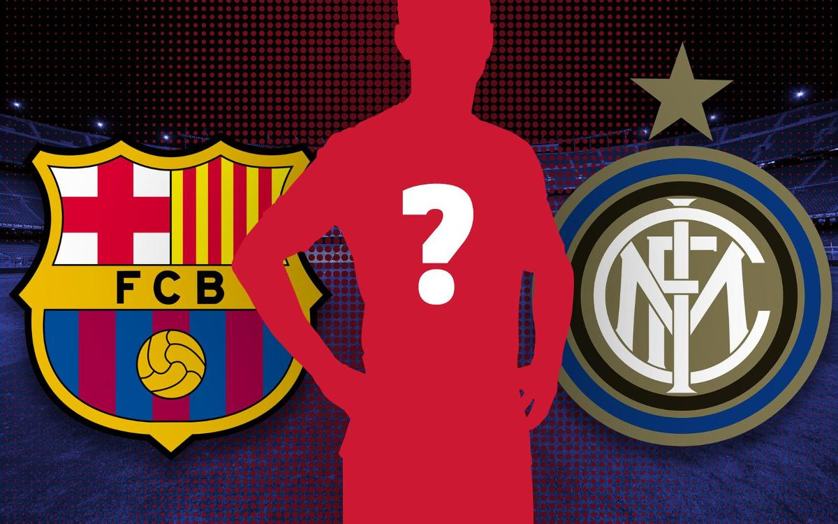 Who has played for both Barça and Inter?