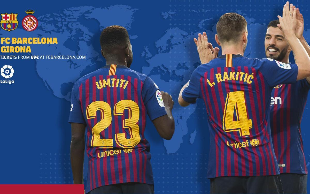 Cuándo y dónde ver el FC Barcelona - Girona FC