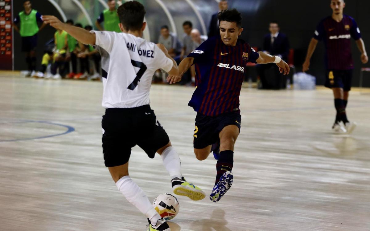 Barça Lassa B – Rivas Futsal (2-3): Derrota en el primer partit a casa