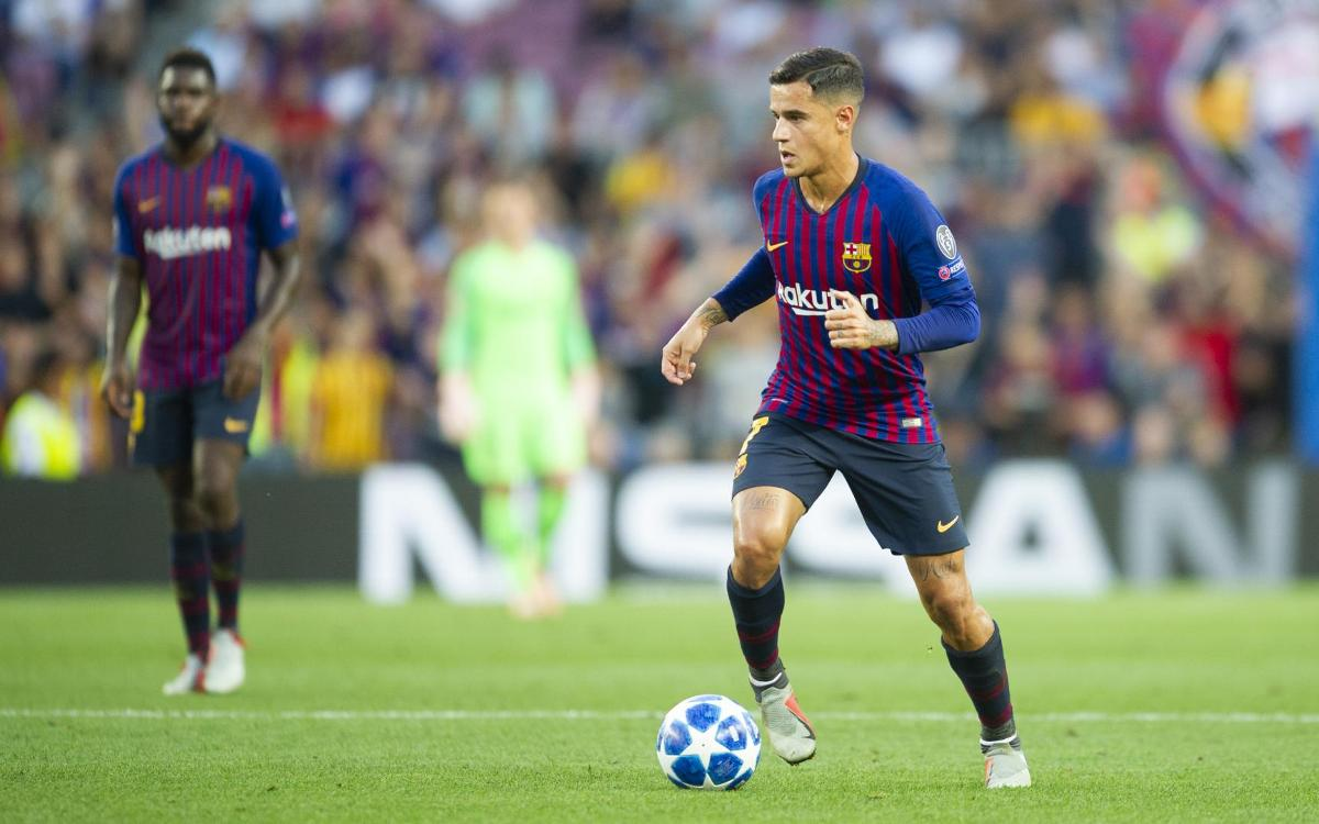 Philippe Coutinho: 'Champions League debut was a unique feeling'