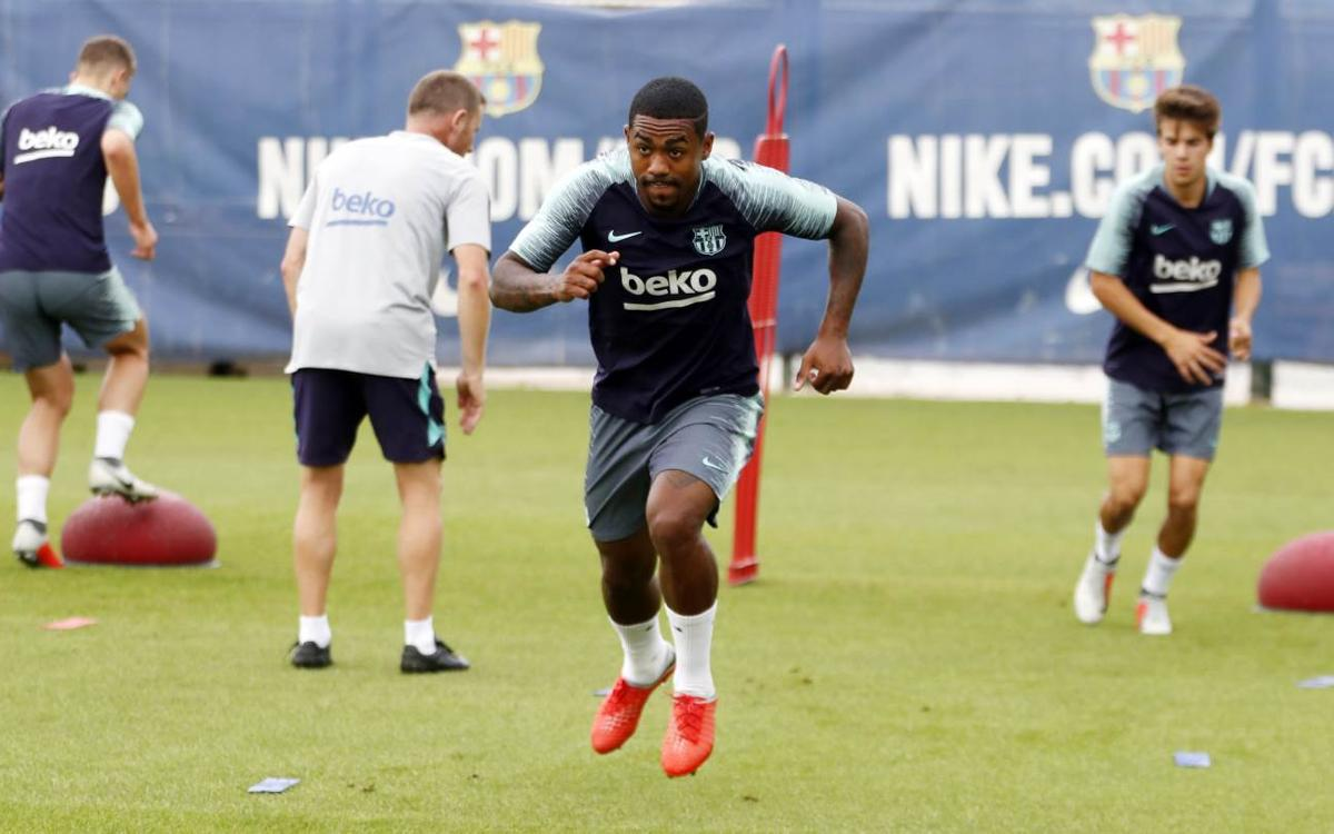 Malcom given all clear as squad train on Monday