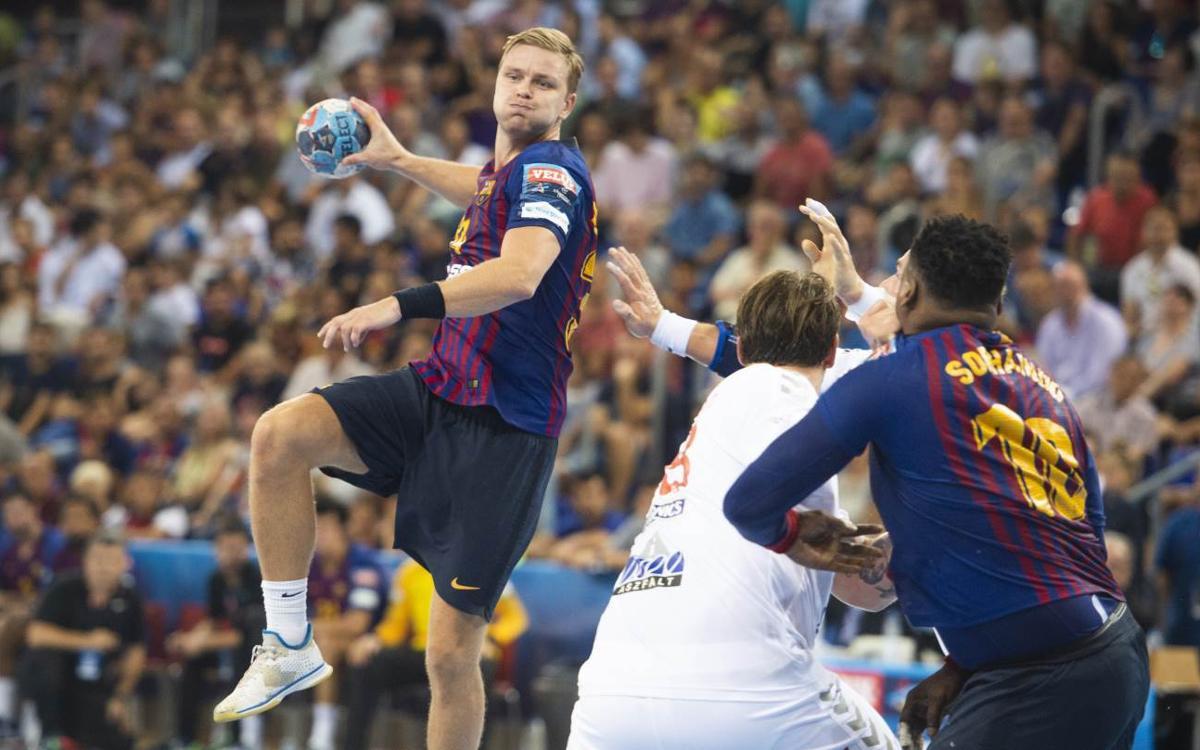 Barça Lassa – PGE Vive Kielce: El liderato en juego en el Palau