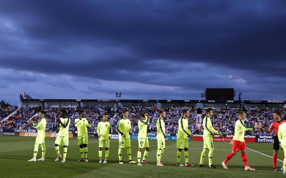 The other side of Leganés vs Barça