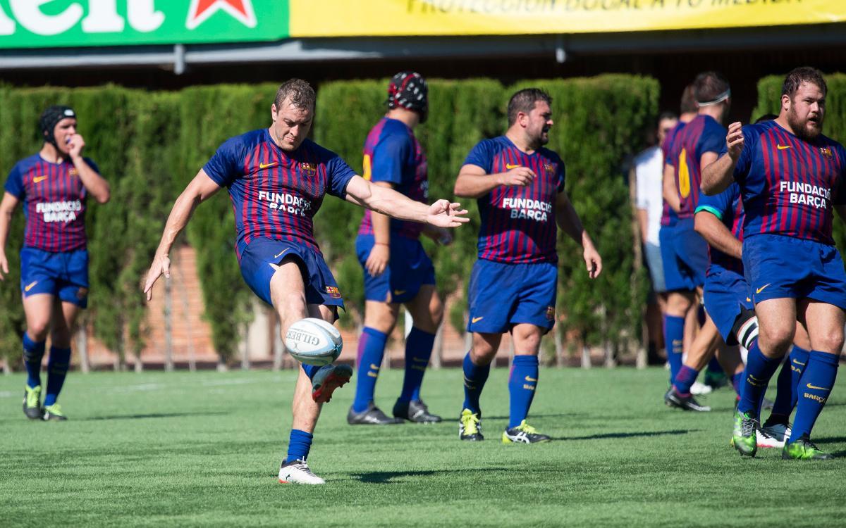 El Barça de Rugby recibe al Alcobendas en plena lucha por el segundo lugar en la clasificación