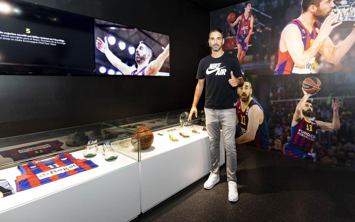 Inaugurat l'espai dedicat a Juan Carlos Navarro al Museu