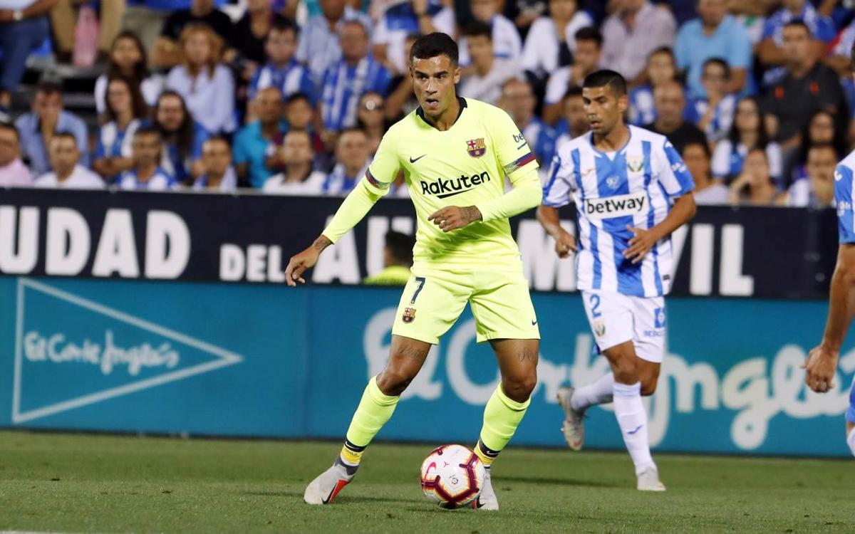 HIGHLIGHTS: Leganés v FC Barcelona