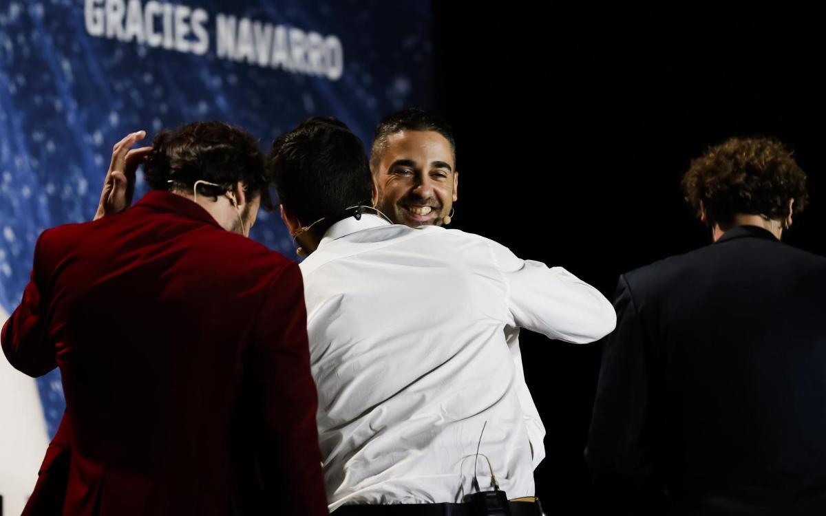Reviu íntegre l'acte de comiat de Juan Carlos Navarro