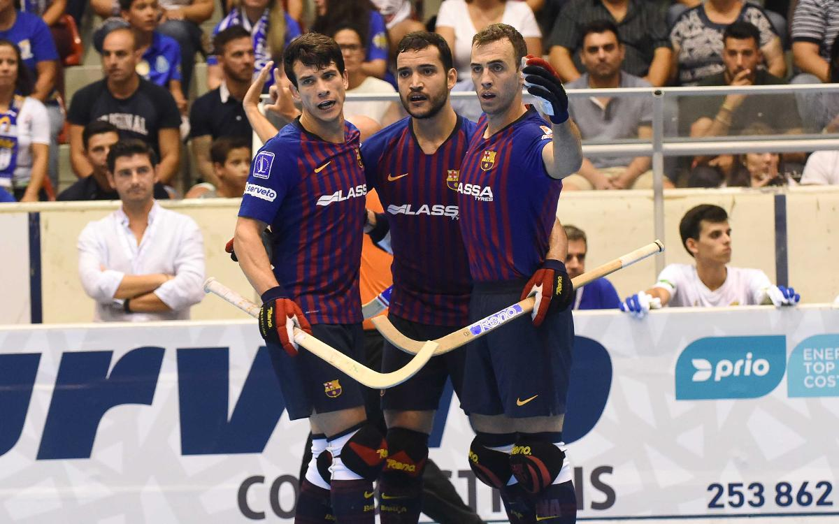 Barça Lassa – Barcelos: Clear win and into the final (6-2)