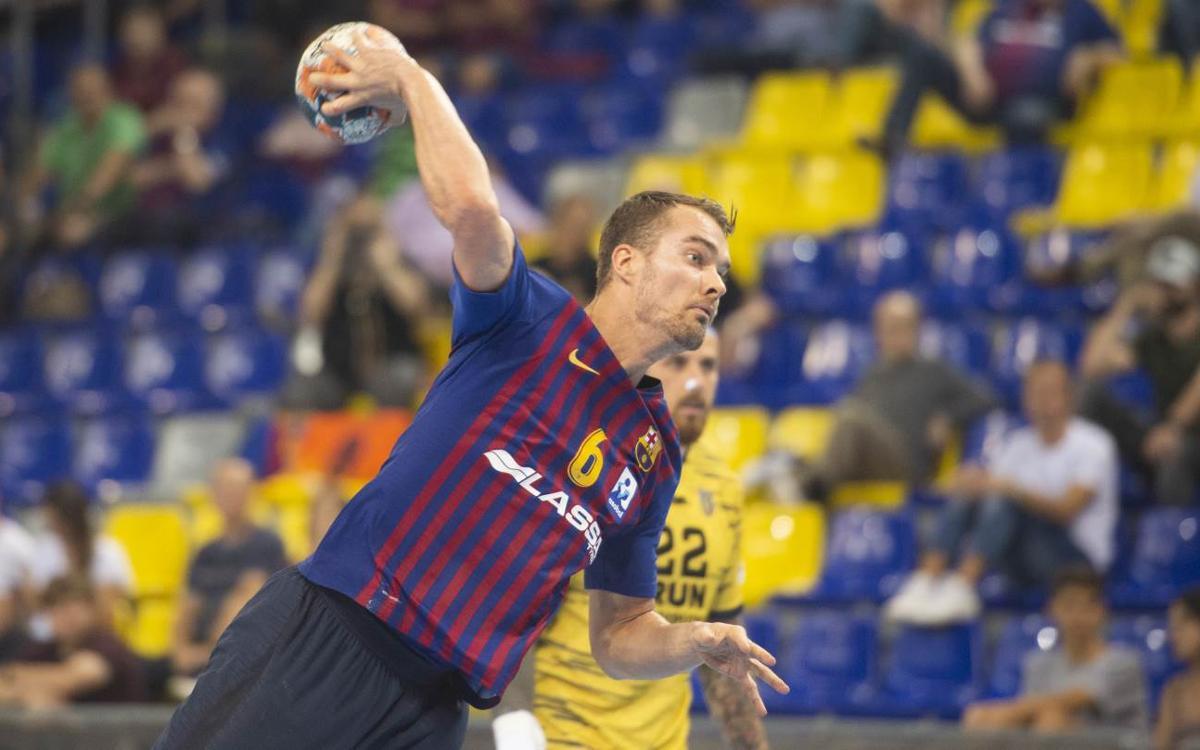 Barça Lassa – Bidasoa Irún: Slow start, fast finish (32-23)
