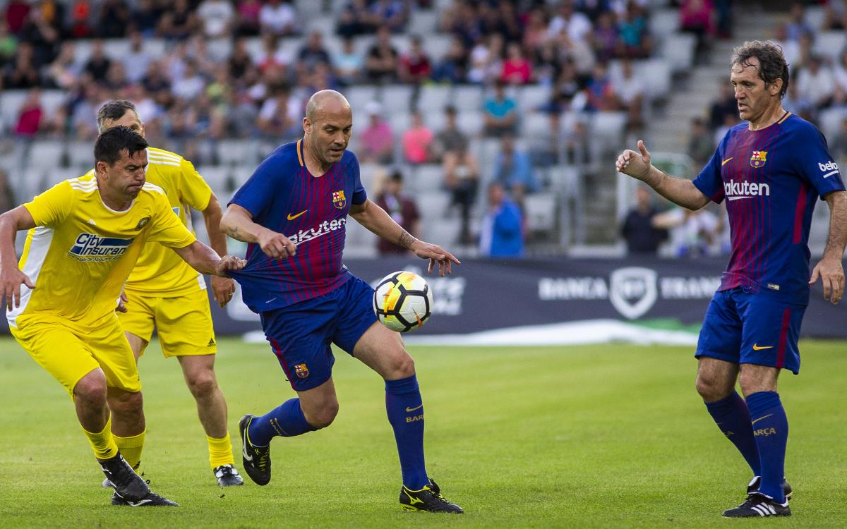Barça Legends squad confirmed for match in Kolkata, India