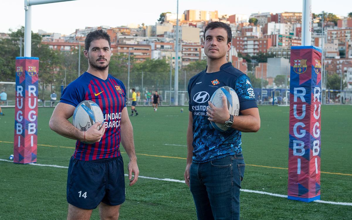 Un derbi para consolidar el buen momento del rugby azulgrana
