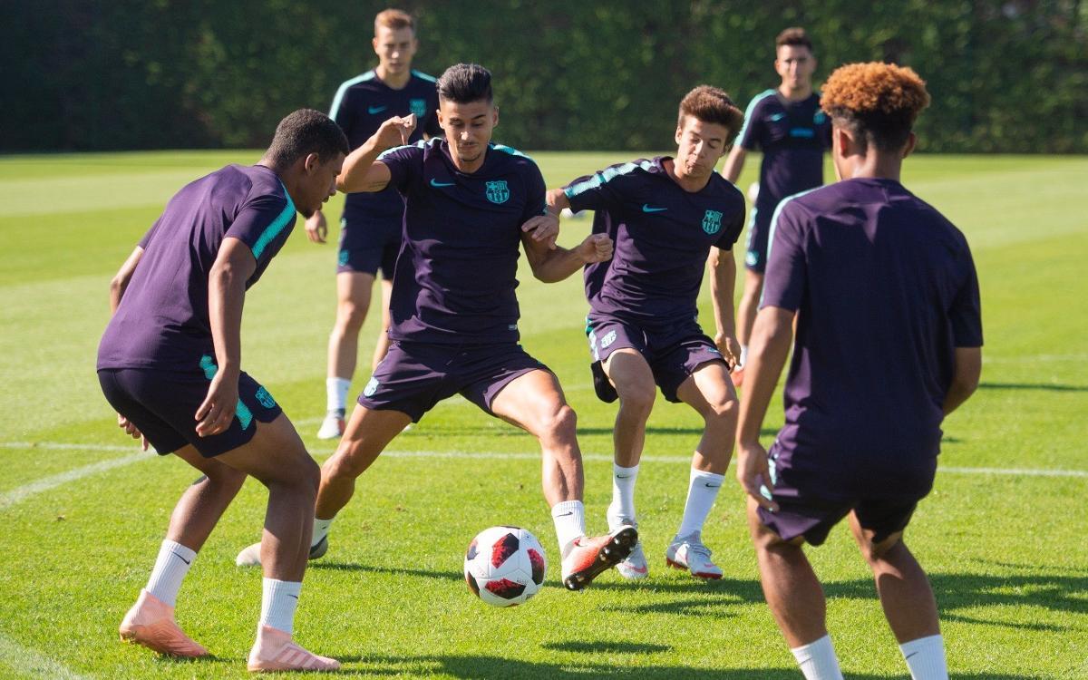 Barça B - Olot: ¡A seguir sumando!
