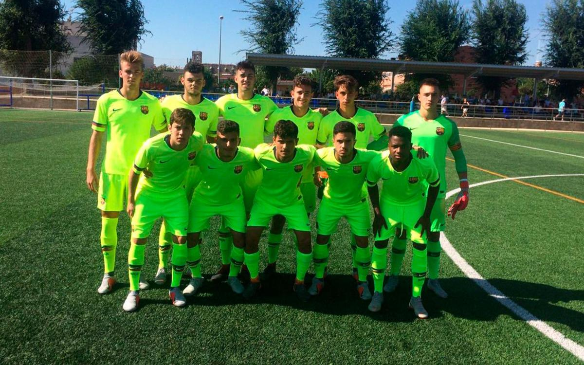 Reus Deportiu - Juvenil A: Gran triunfo a domicilio (0-3)