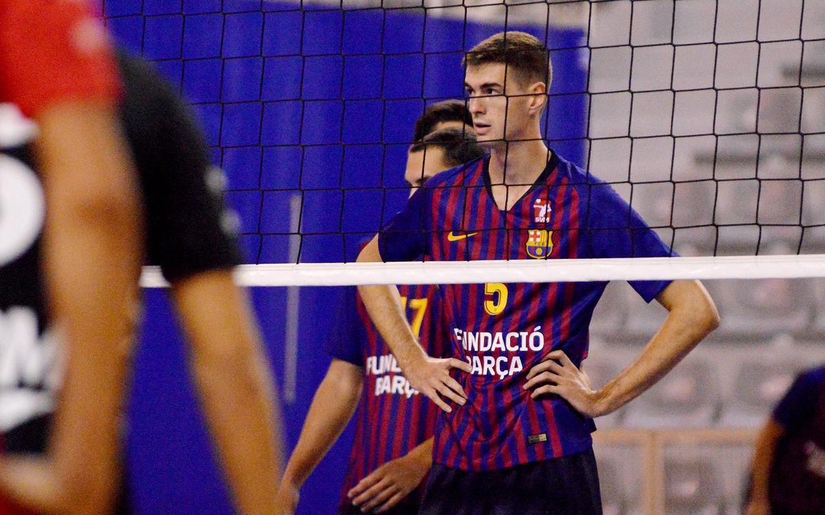 Doble derrota del Barça de Voleibol