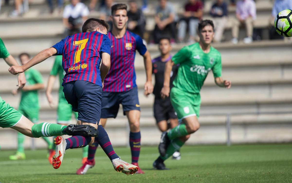 Juvenil A – Stadium Casablanca: Un nou triomf per consolidar el liderat (3-0)