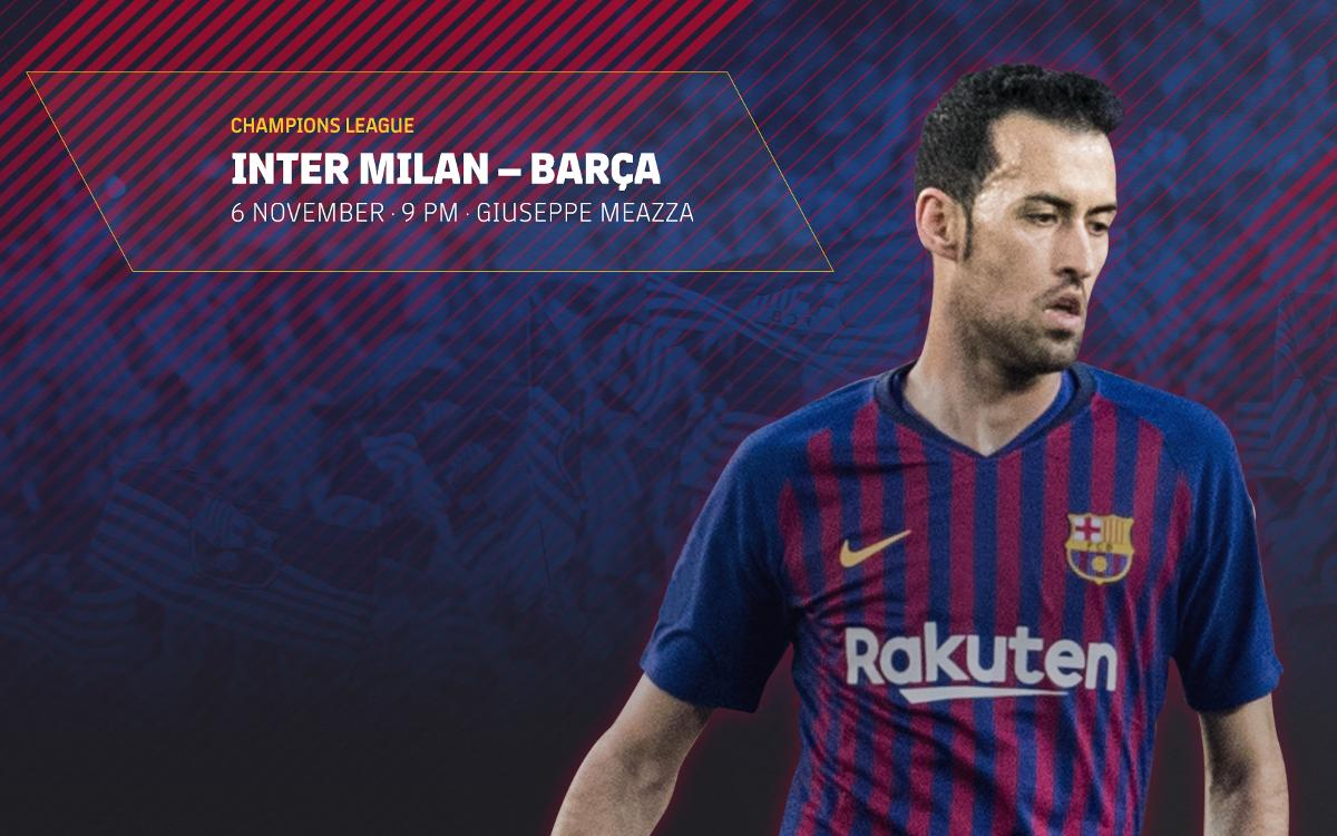 Tickets on sale for away game against Inter