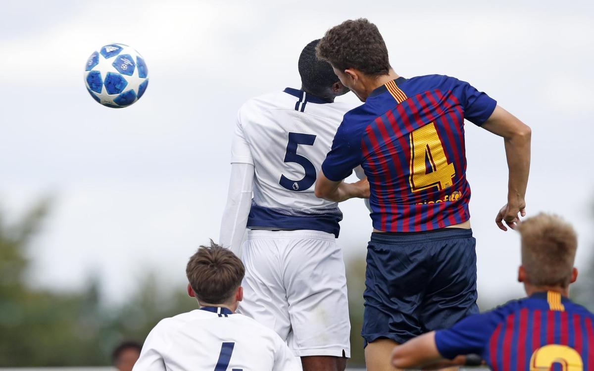 Tottenham Juvenil - Juvenil A: Empat i liderat (1-1)