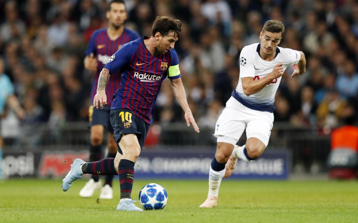 Leo Messi: 'We played excellently'