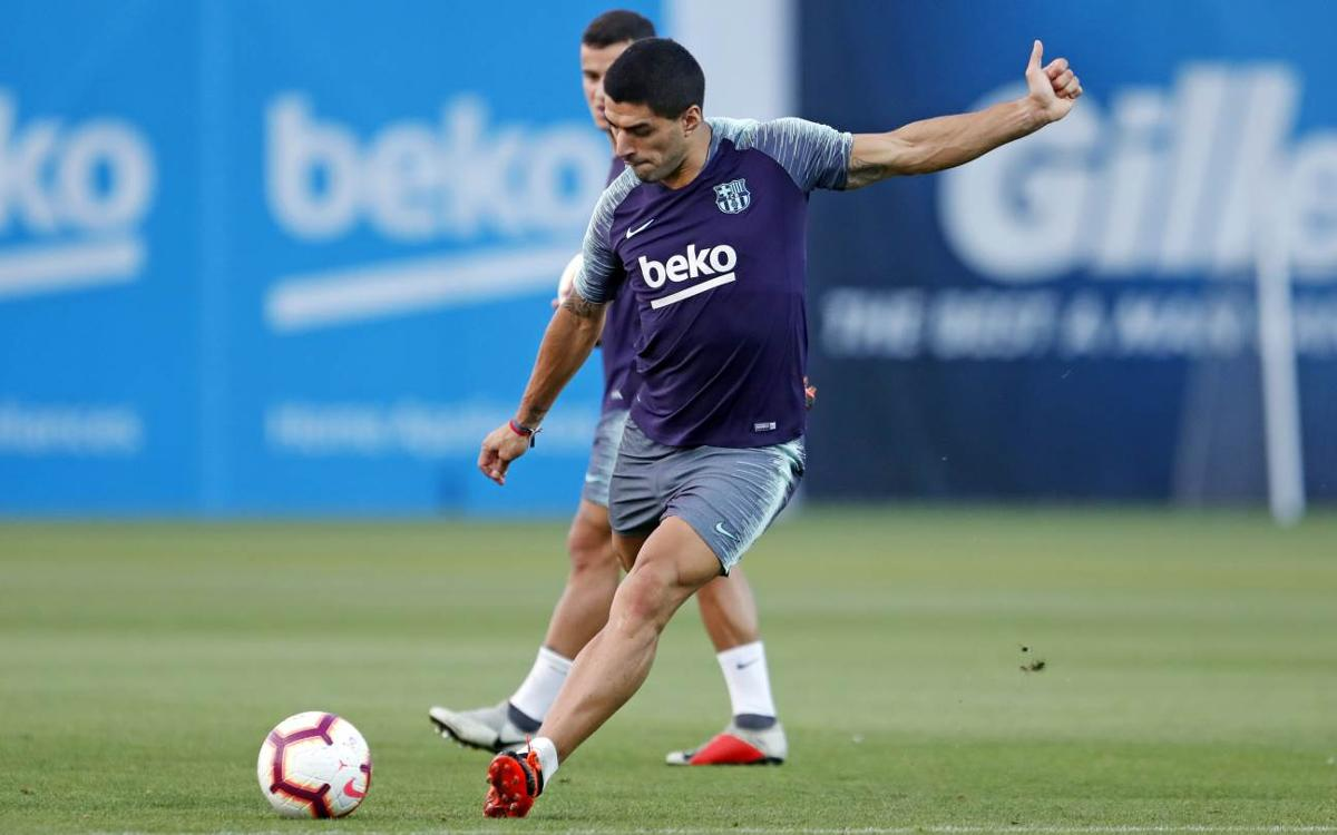 Medical announcement on Luis Suárez