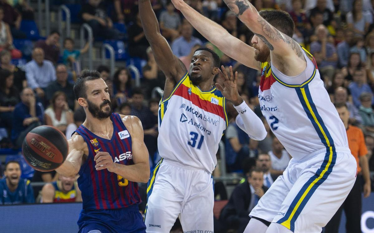 Barça Lassa – MoraBanc Andorra: A hard-fought win (67-63)