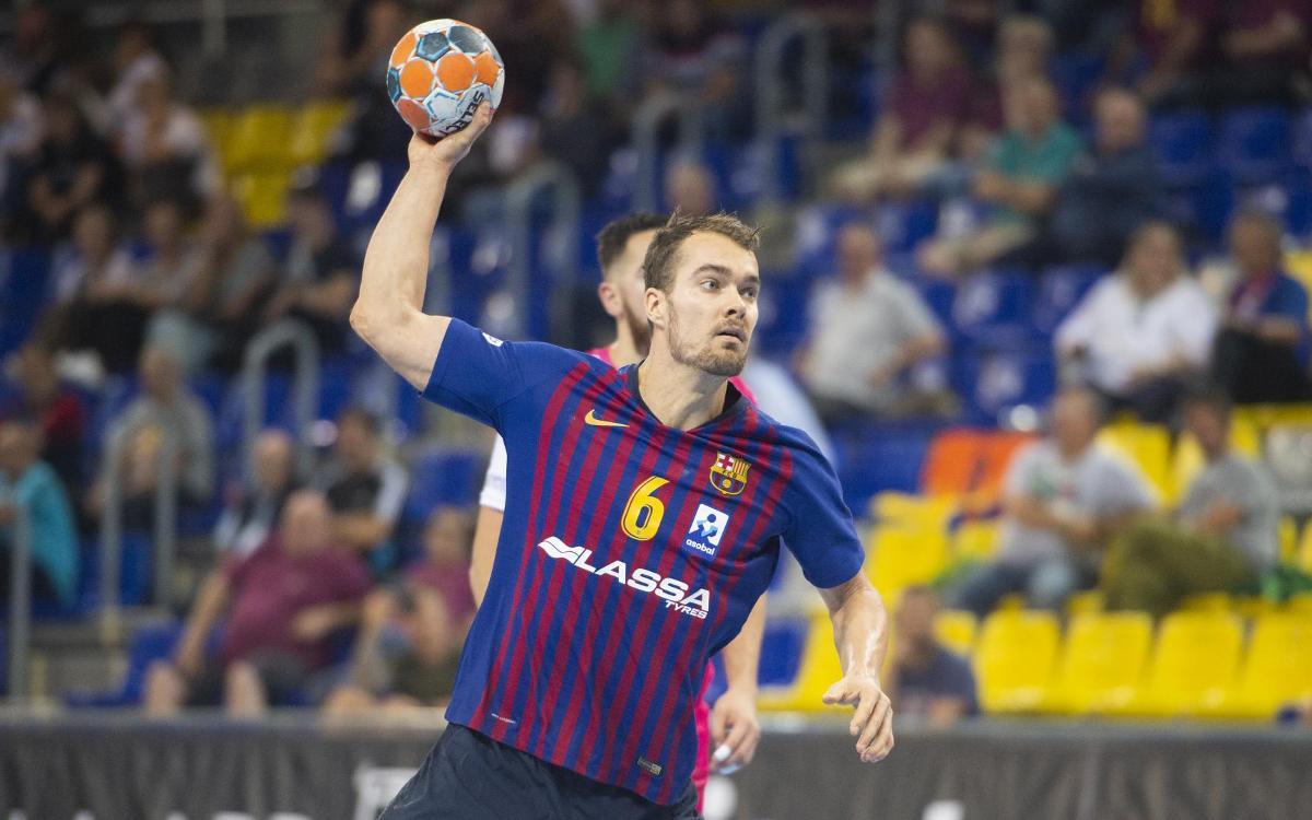 Barça Lassa - Frigoríficos Morrazo de Cangas: Prova superada (40-26)