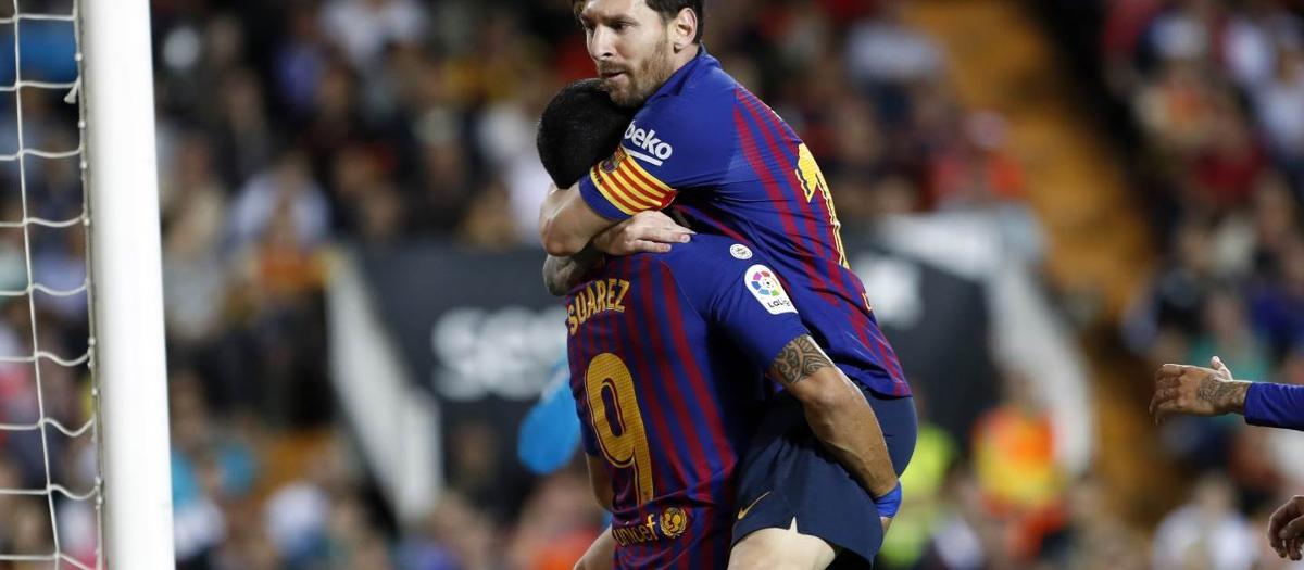 València CF - FC Barcelona (1-1)