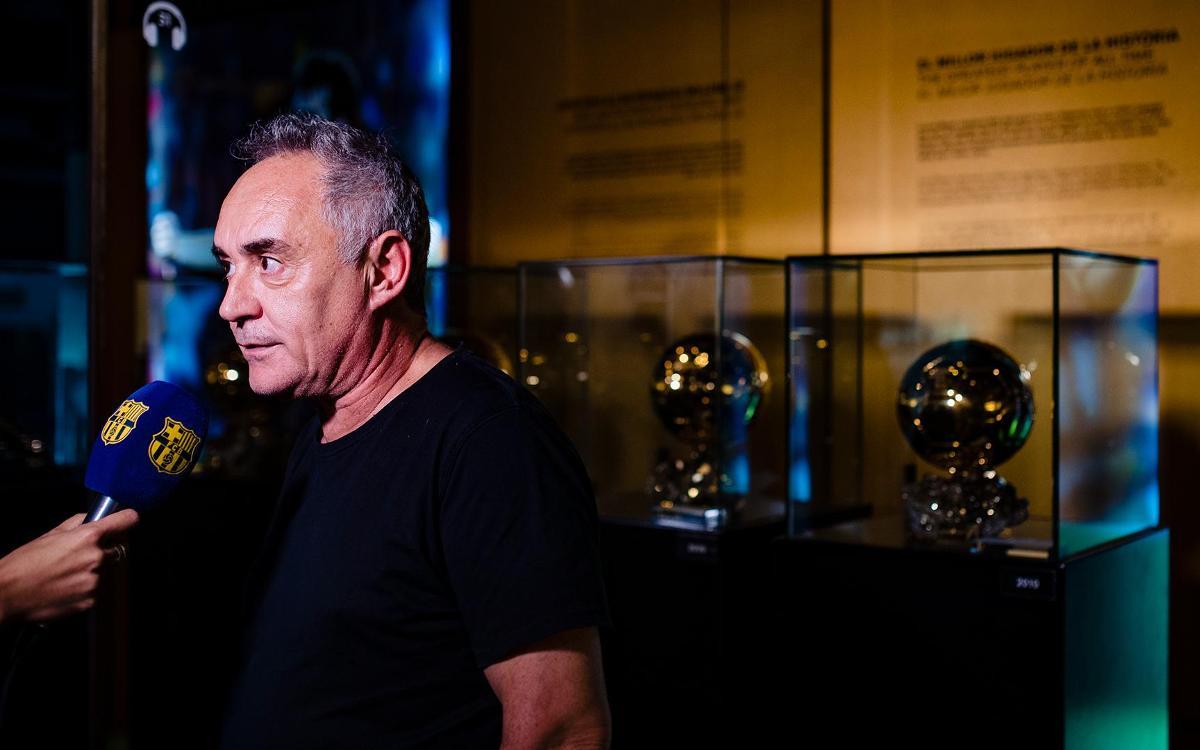 """Ferran Adrià: """"Messi és el millor jugador de la història"""""""