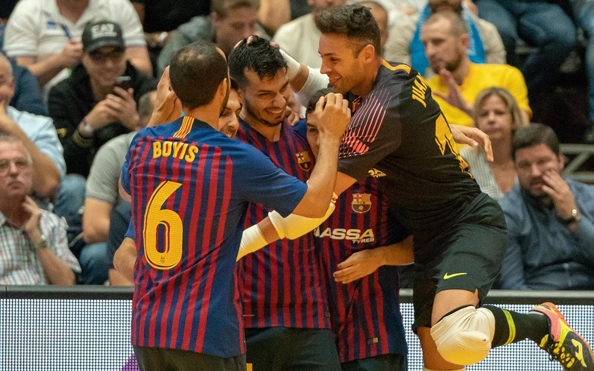 Barça Lassa - Halle-Gooik: A win without reward (7-3)