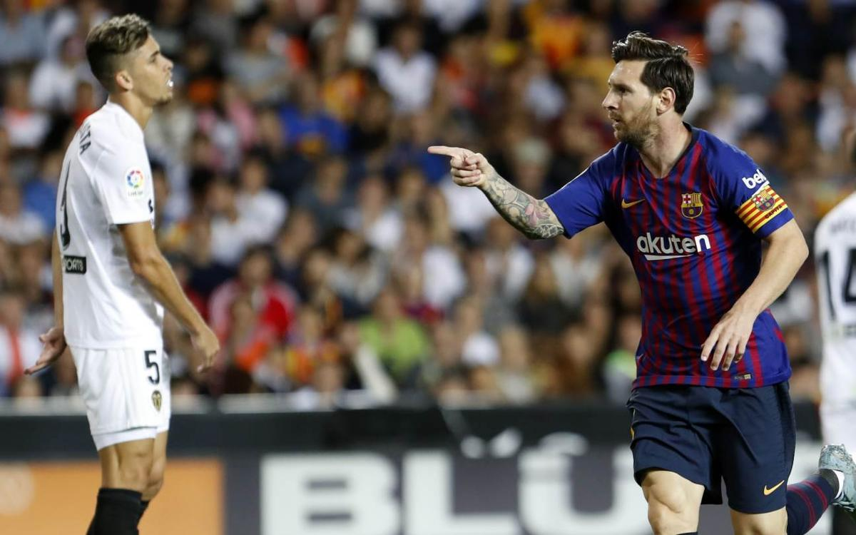 HIGHLIGHTS: Valencia v FC Barcelona