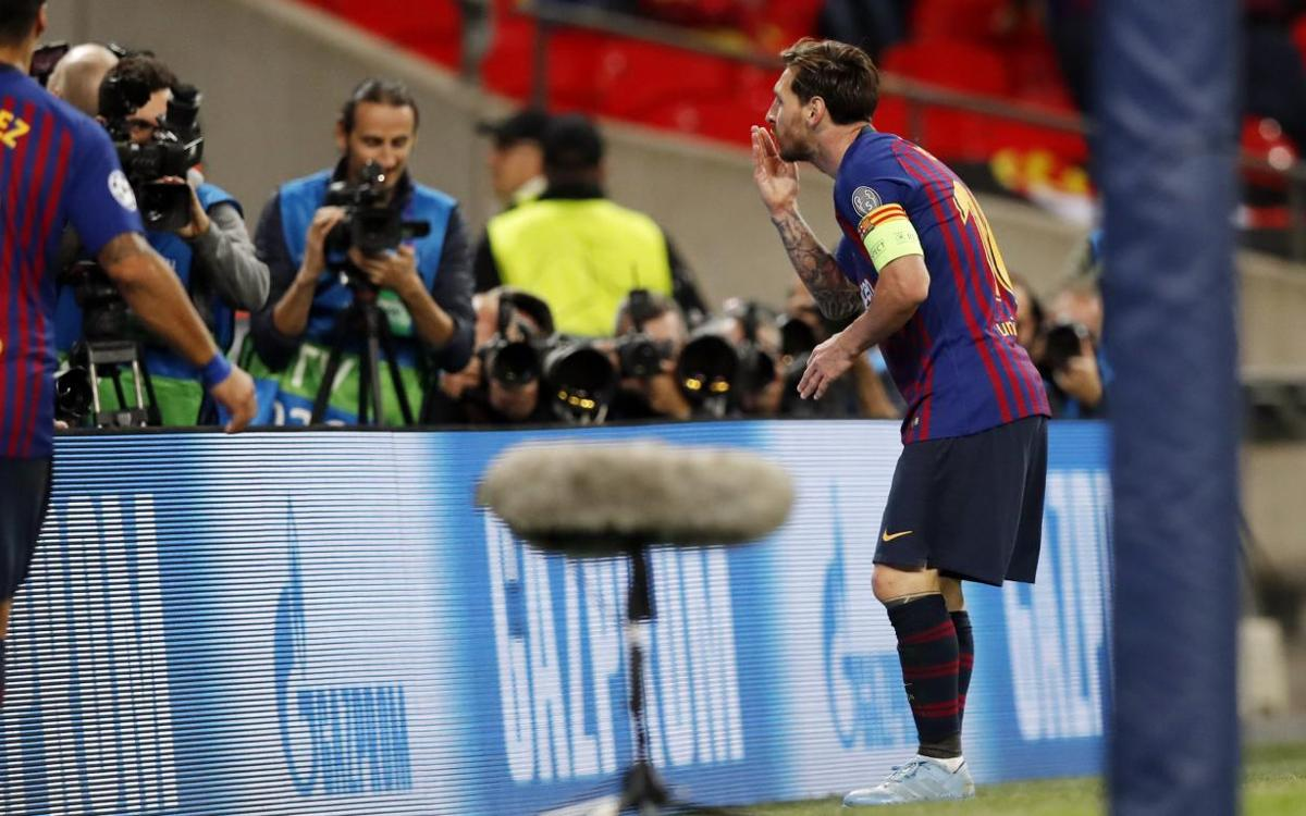 By the numbers: Lionel Messi's Wembley masterclass