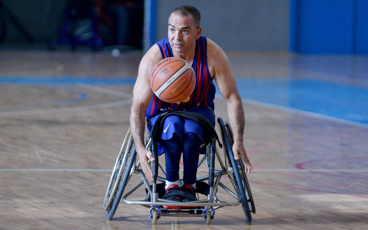 El Barça de Bàsquet en Cadira de Rodes comença fort (52-29)