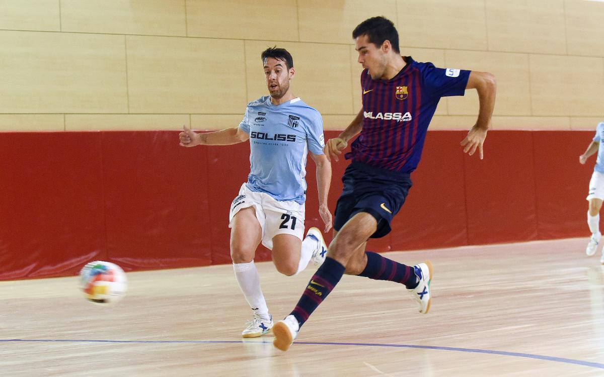 Barça Lassa B – Soliss Talavera (3-4): Domini sense recompensa