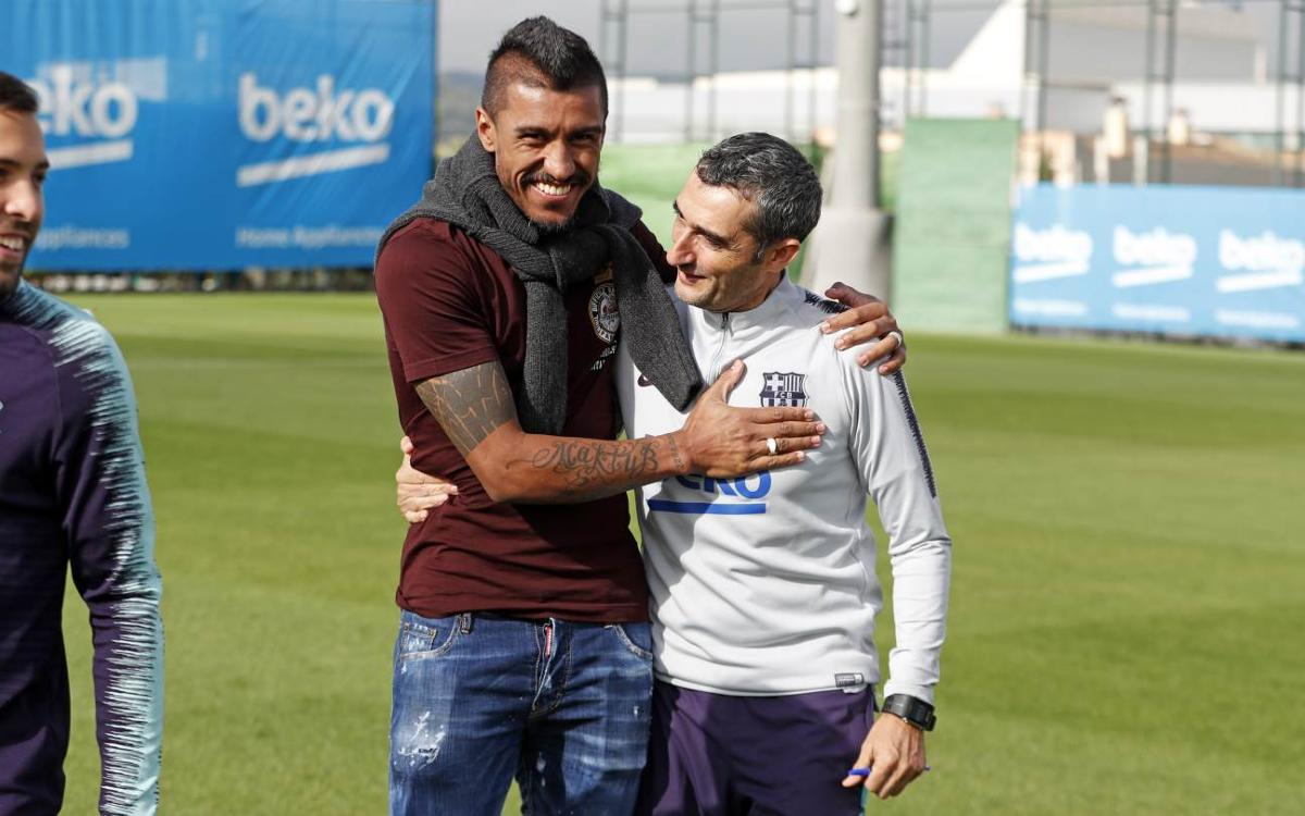 Paulinho: 'I really appreciated the people at the Club'