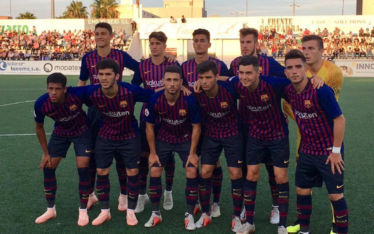 Ontinyent 0-3 Barça B: Great away win