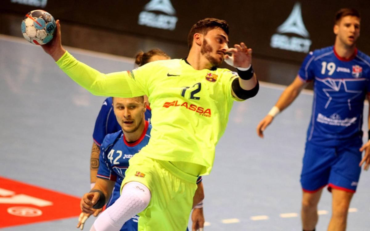 HC Meshkov 21-29 Barça Lassa: Great win in Belarus