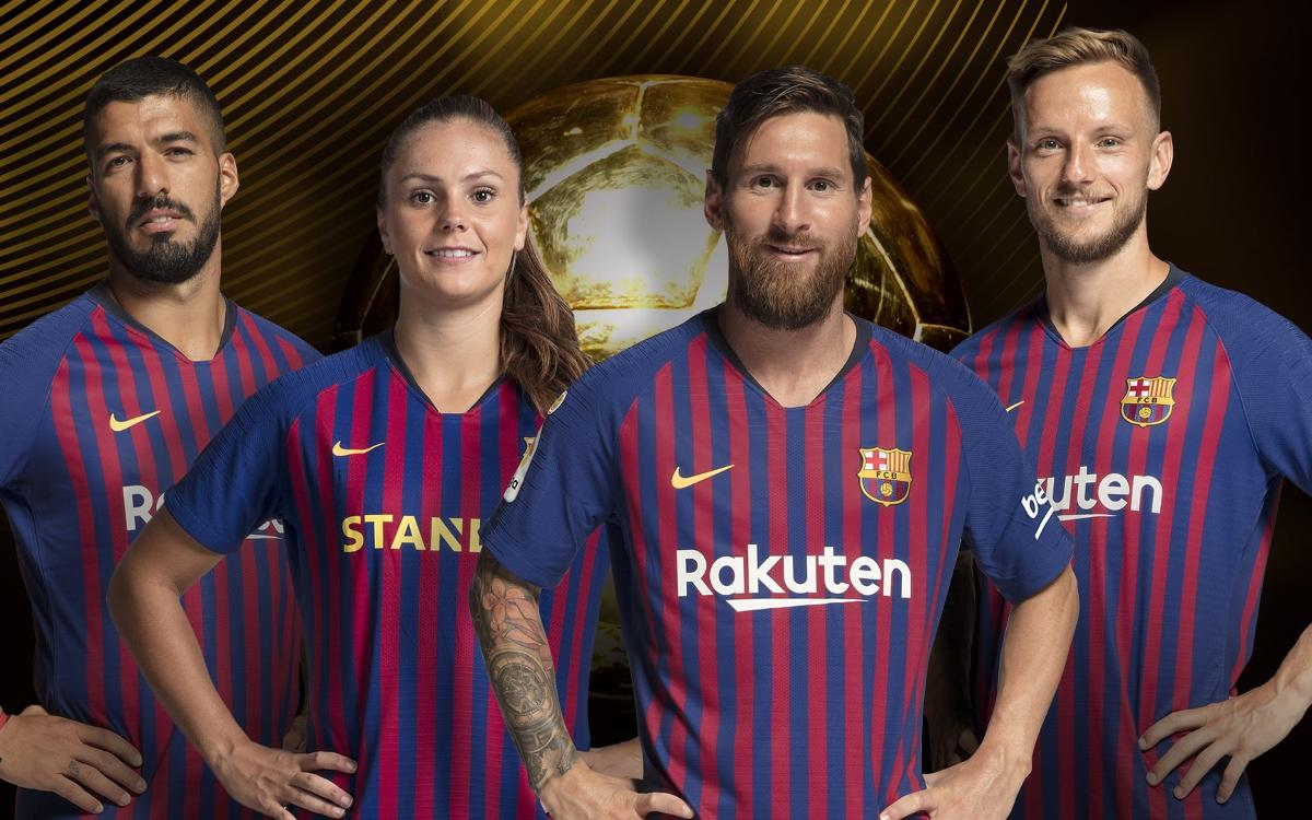 Messi, Suárez, Rakitic, and Martens nominated for 2018 Ballon d'Or