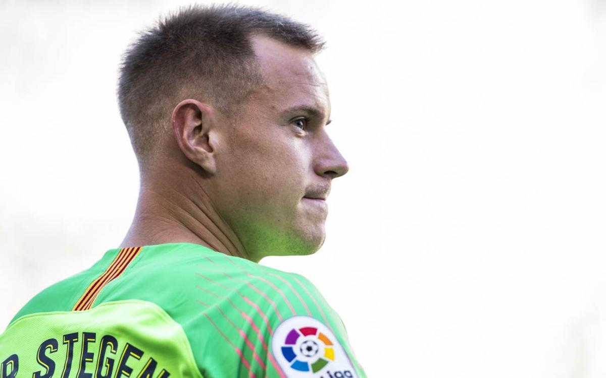 Vidéo - Le rituel de Ter Stegen après chaque but du FC Barcelone