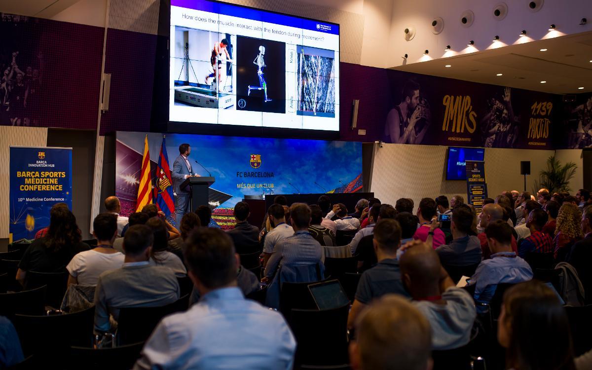 Els millors experts en medicina esportiva es donen cita a la Barça Sports Medicine Conference