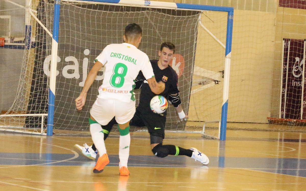 Córdoba CF Futsal - Barça Lassa B (4-4): Empate en los últimos minutos