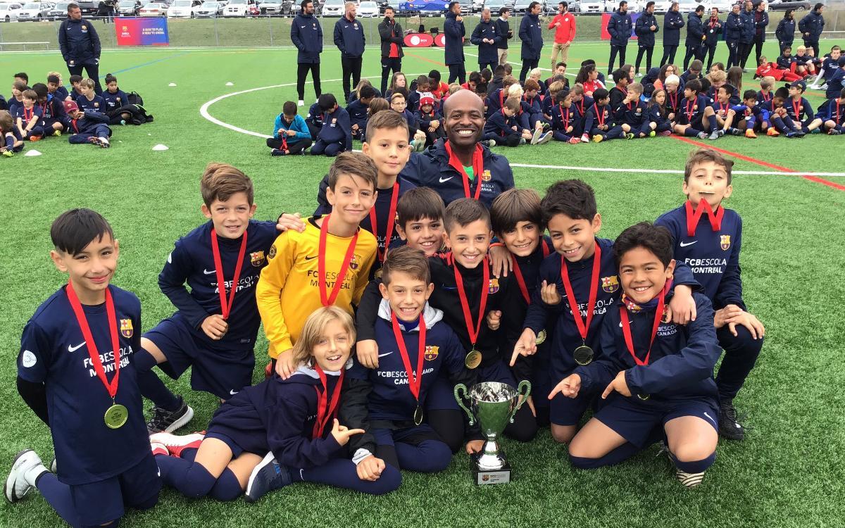 El Torneo Barça Academy Canada celebra su tercera edición en Toronto
