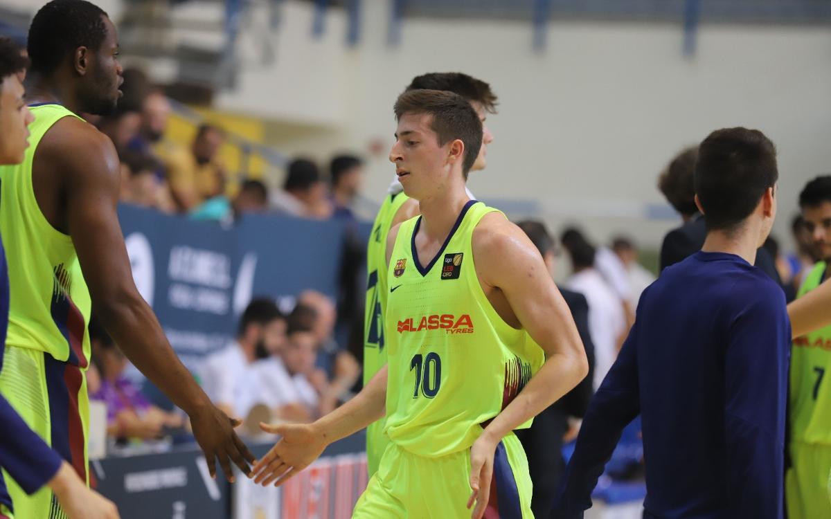Los datos del triunfo en Melilla del Barça Lassa B de baloncesto