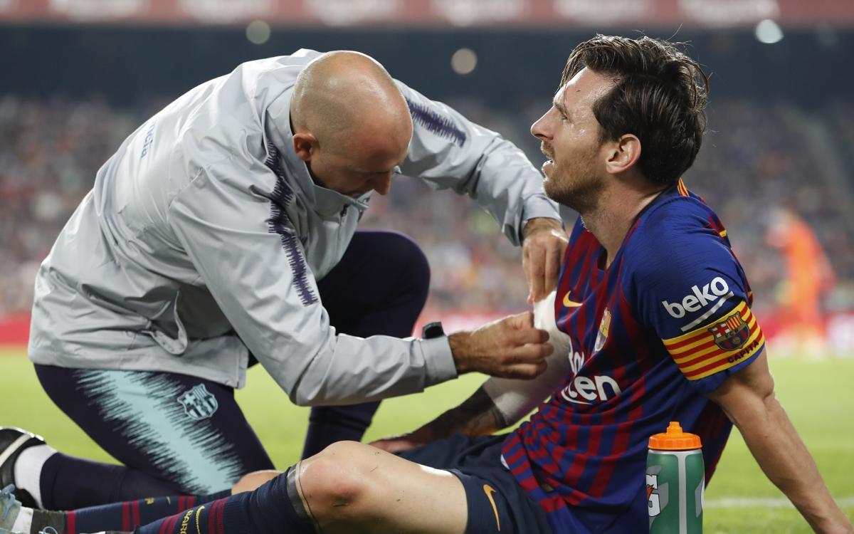 Lesión de Lionel Messi: estará tres semanas de baja por una fractura en el brazo derecho