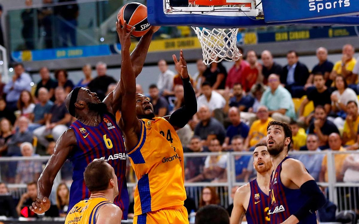Herbalife Gran Canaria – Barça Lassa: Defeated in the final seconds (87-86)